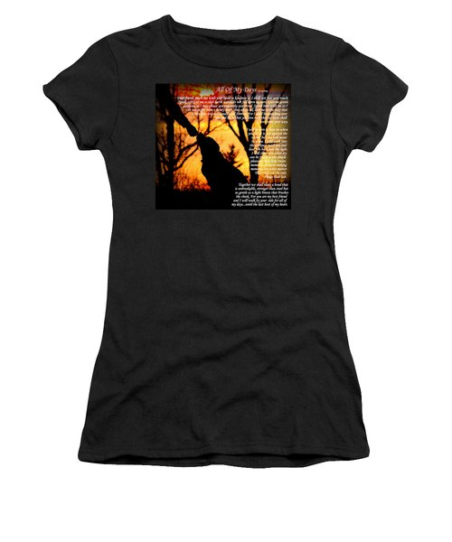 All Of My Days Version Three Women's T-Shirt (Athletic Fit)