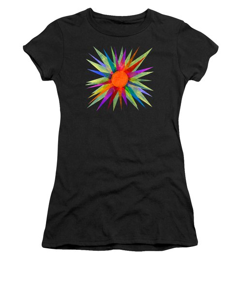 All The Colors In The Sun Women's T-Shirt (Athletic Fit)