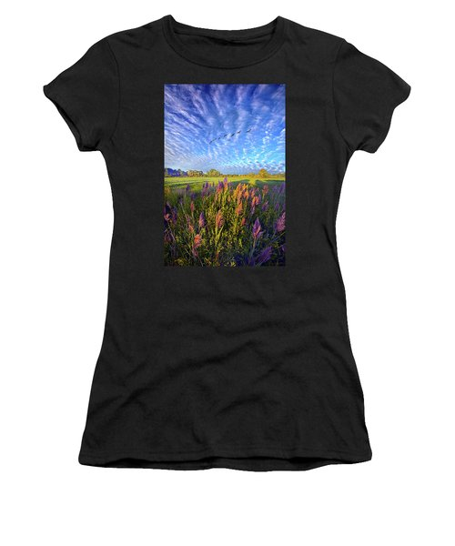 All Things Created And Held Together Women's T-Shirt (Athletic Fit)
