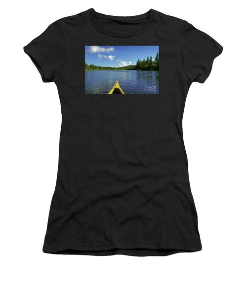 Allagash River, Northern Maine, Usa Women's T-Shirt