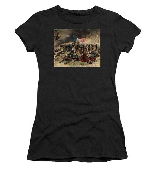 Allegory Of The Siege Of Paris Women's T-Shirt