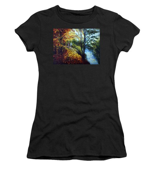 Alley By The Lake 1 Women's T-Shirt