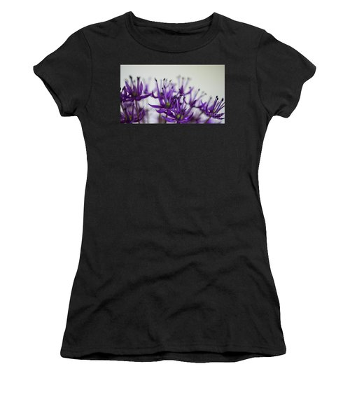 Allium Aflatunense Sideview Women's T-Shirt (Athletic Fit)