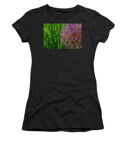 Allium Explosion Women's T-Shirt (Athletic Fit)