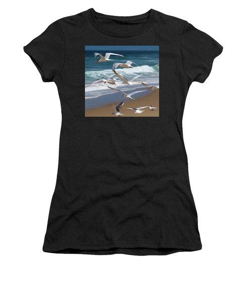 Aloft Again Women's T-Shirt (Athletic Fit)