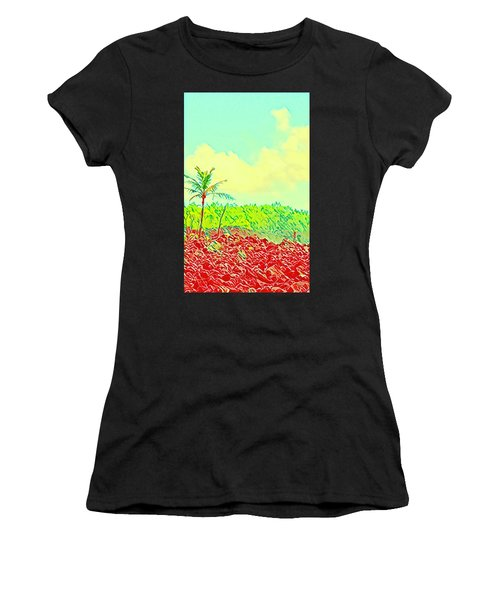 Aloha Lava Aina Hawaii Sky Women's T-Shirt