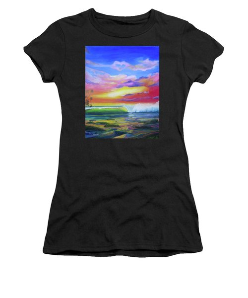 Aloha Reef Women's T-Shirt (Athletic Fit)