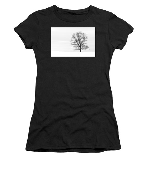 Alone On A Hill Women's T-Shirt