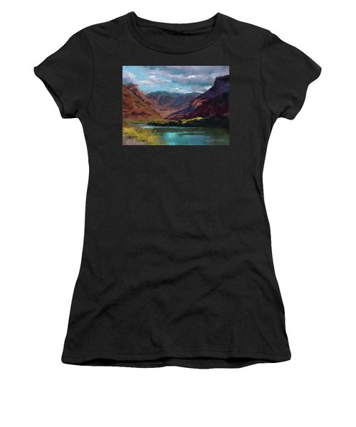 Along The Colorado Women's T-Shirt (Athletic Fit)