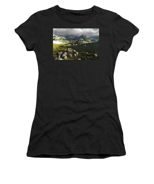 Along The Pinnacles Of Time Women's T-Shirt