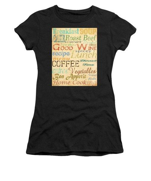 Alphabet Soup-a Women's T-Shirt (Athletic Fit)
