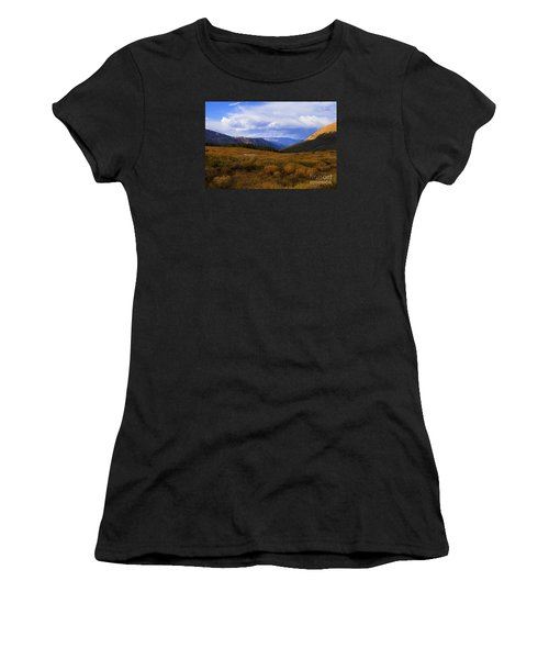 Alpine Pond Women's T-Shirt (Athletic Fit)