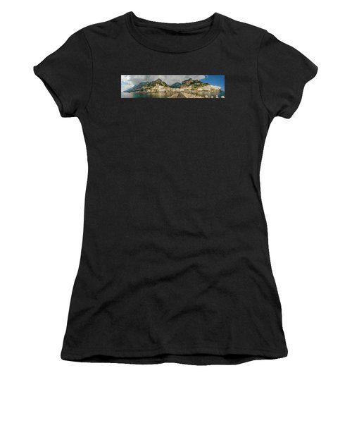 Women's T-Shirt (Athletic Fit) featuring the photograph Amalfi by Steven Sparks