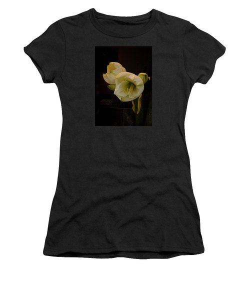 mont Blanc Amaryllis No. 1 Women's T-Shirt (Athletic Fit)