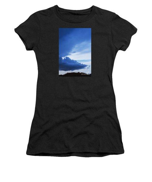 Amazing Blue Sky Vertical Women's T-Shirt