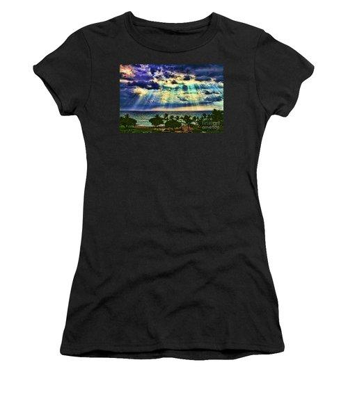 Amazing Grace - Sun Rays Before Sunset By Diana Sainz Women's T-Shirt