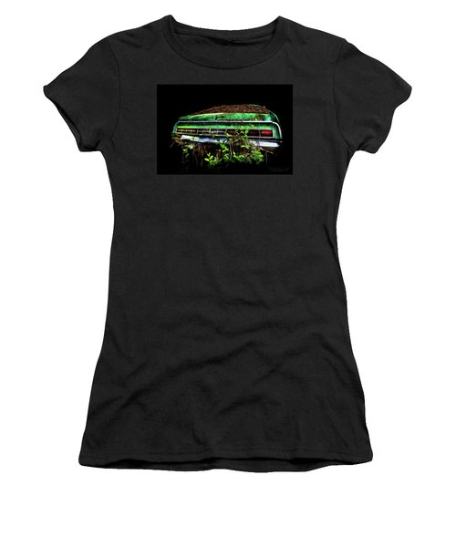 Women's T-Shirt featuring the photograph Amc Javelin  by Glenda Wright