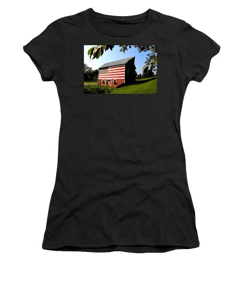 Americana 1 Desoto Kansas Women's T-Shirt (Athletic Fit)