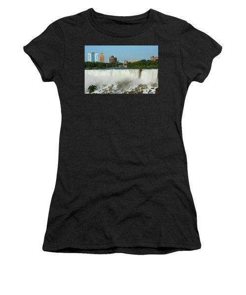 American Falls With Bridal Veil Women's T-Shirt