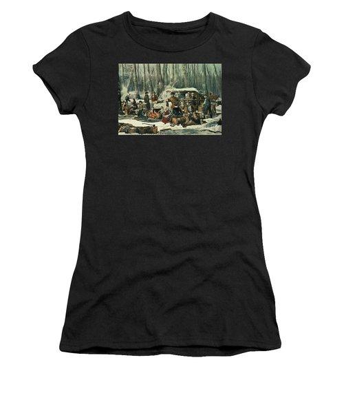 American Forest Scene Women's T-Shirt