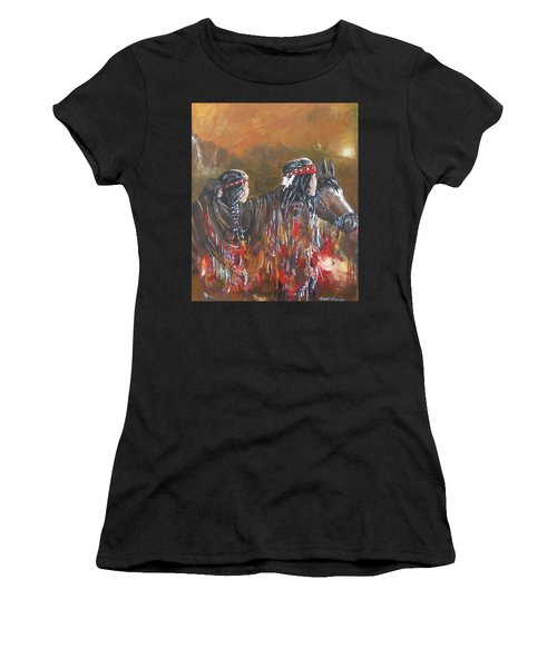 American Indians Family Women's T-Shirt