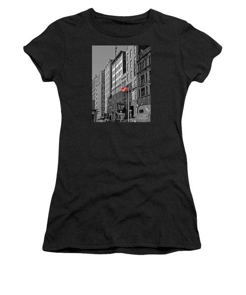 American Iron Worker Women's T-Shirt