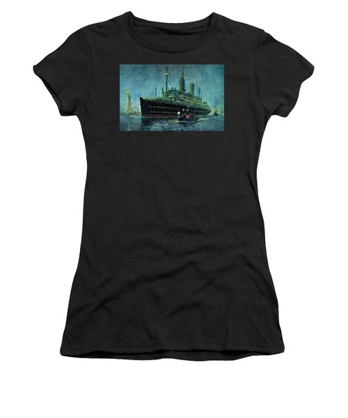 American Line, New York Women's T-Shirt