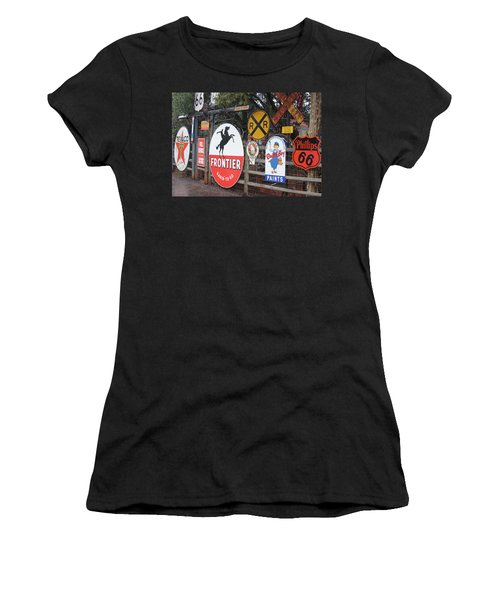 Americana Rt.66 Women's T-Shirt (Athletic Fit)