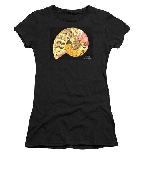 Ammonite Fossil Women's T-Shirt