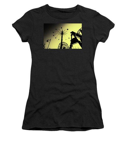 Amusements In Silhouette Women's T-Shirt