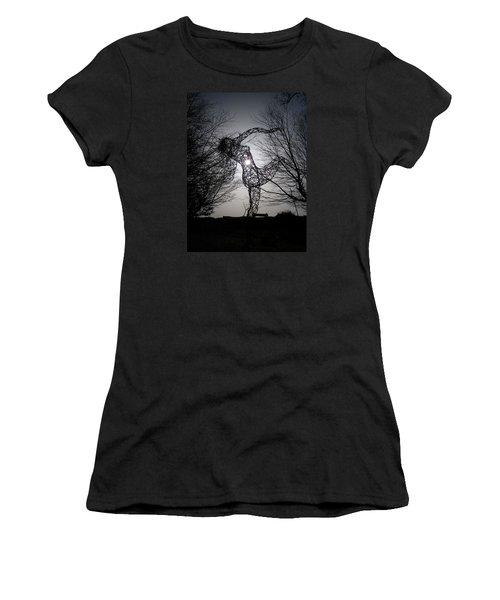 An Eclipse Of The Heart? Women's T-Shirt (Junior Cut) by Richard Brookes