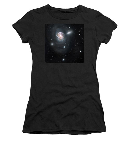 Women's T-Shirt (Junior Cut) featuring the photograph An Island Universe In The Coma Cluster by Nasa