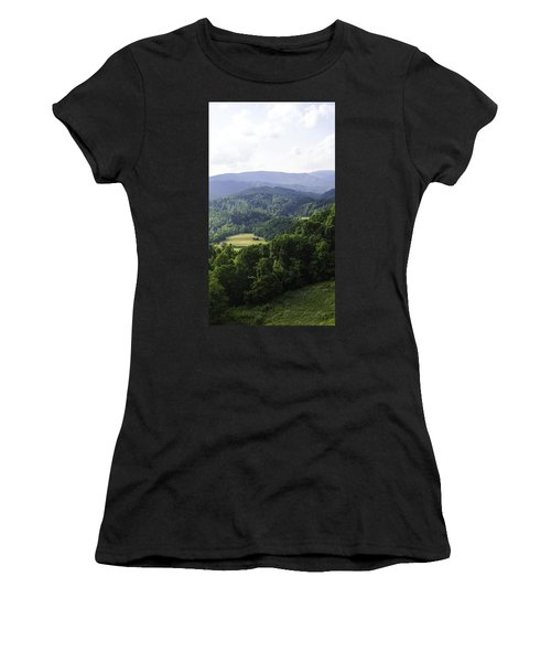 An Old Shack Hidden Away In The Blue Ridge Mountains Women's T-Shirt