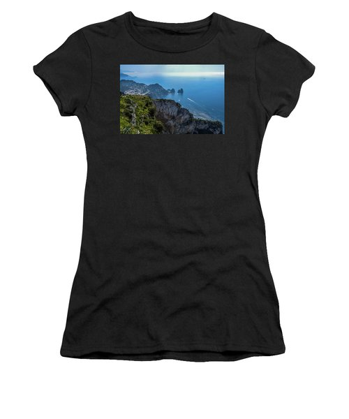Anacapri On Isle Of Capri Women's T-Shirt (Athletic Fit)