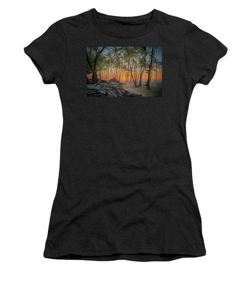 Anaehoomalu Beach Sunset Women's T-Shirt