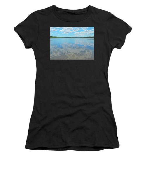 Anasagunticook Lake, Canton, Me, Usa 10 Women's T-Shirt (Athletic Fit)