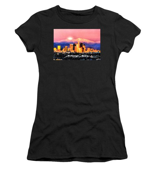 Anchorage - Bright-named Women's T-Shirt (Athletic Fit)