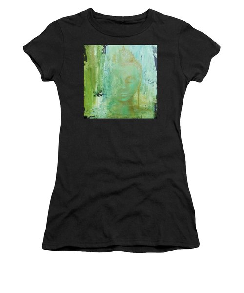 Ancient Buddha Women's T-Shirt (Athletic Fit)