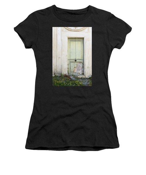 Ancient Door Rome Italy Women's T-Shirt