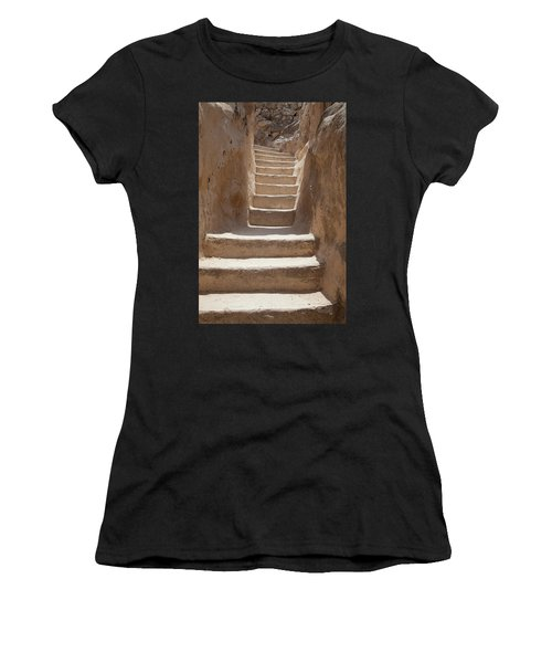 Ancient Stairs Women's T-Shirt (Athletic Fit)