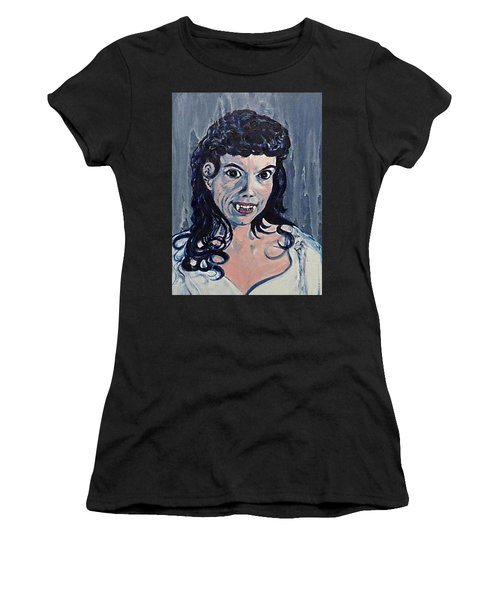 Andree Melly As Gina In The Brides Of Dracula  Women's T-Shirt (Athletic Fit)