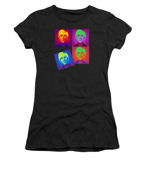 Andy Warhol On Andy Warhol Women's T-Shirt (Athletic Fit)
