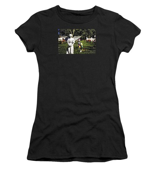 Angel 004 Women's T-Shirt (Athletic Fit)