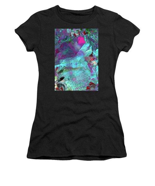 Angel Daphne Flowers #2 Women's T-Shirt (Athletic Fit)