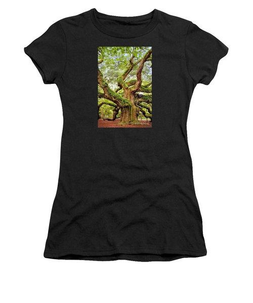 Angel Oak Tree Women's T-Shirt