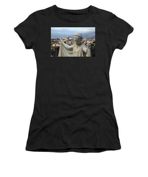 Angel Of Firenze Women's T-Shirt (Athletic Fit)