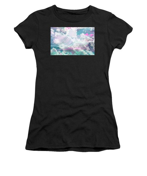 Angel Art Angel Of Peace And Healing Women's T-Shirt (Athletic Fit)