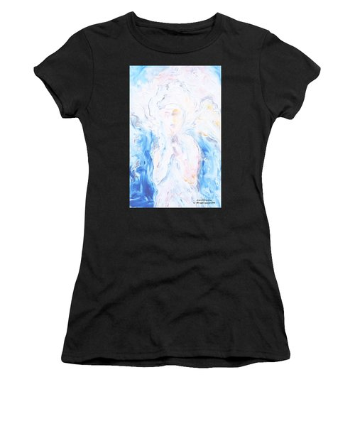 Angel Of Peace Women's T-Shirt (Athletic Fit)