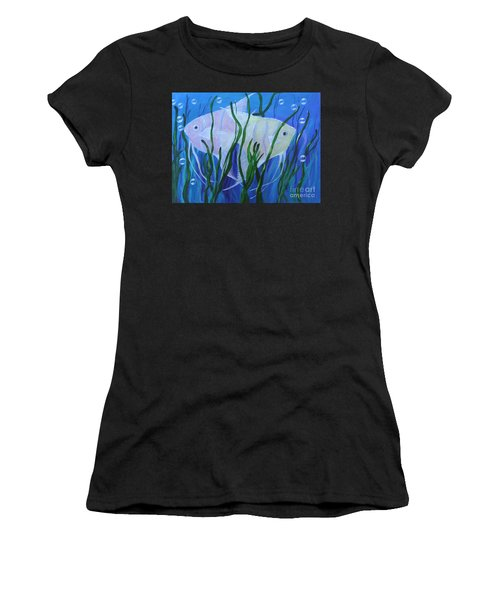 Angelfish Duo Women's T-Shirt (Athletic Fit)
