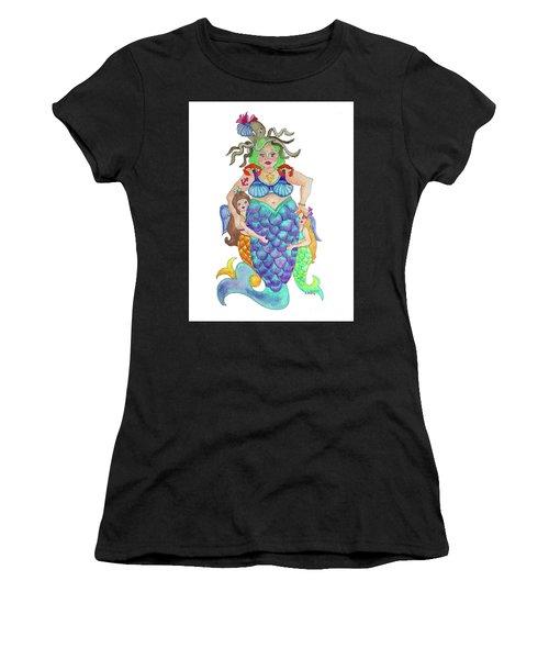 Angels Swim Among Us Women's T-Shirt (Athletic Fit)